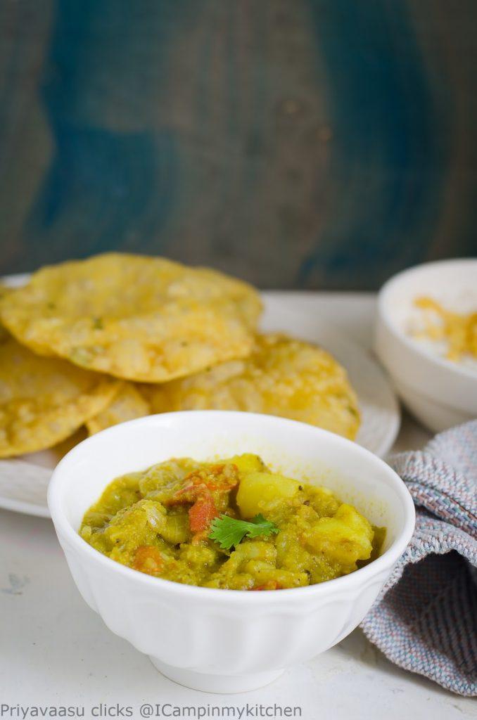 Potato gravy, Potato side-dish, Potato curry, Potato