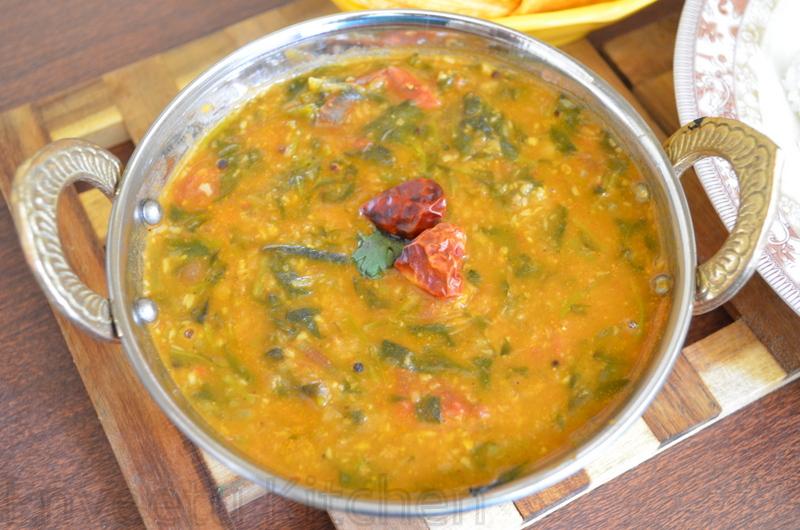 purslane leaves sambar