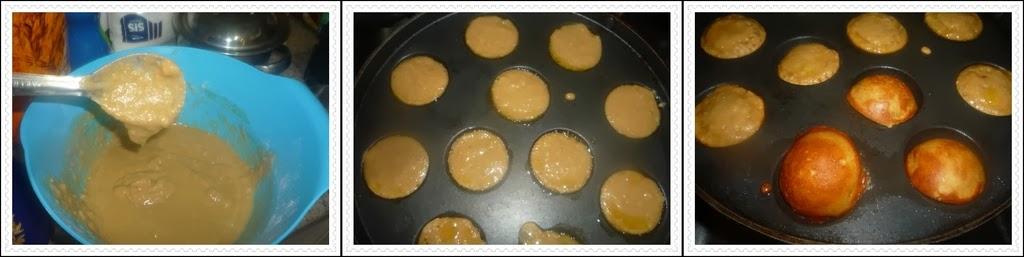 Cooking sweet appams