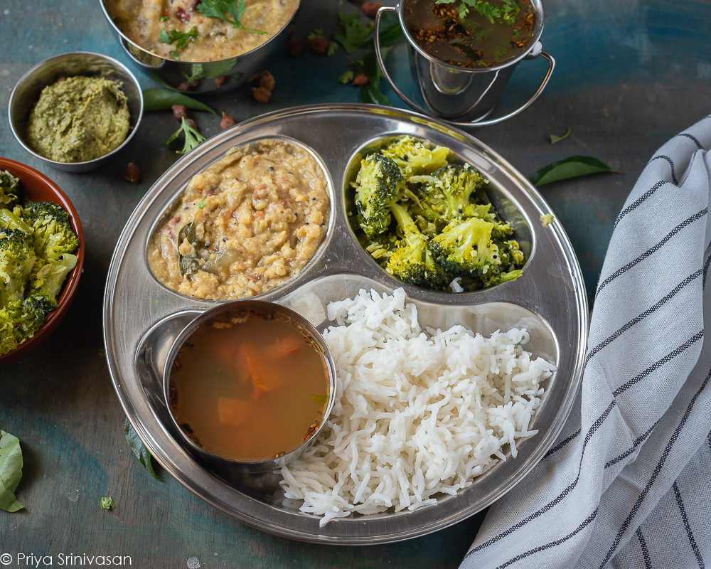 South Indian Lunch #5