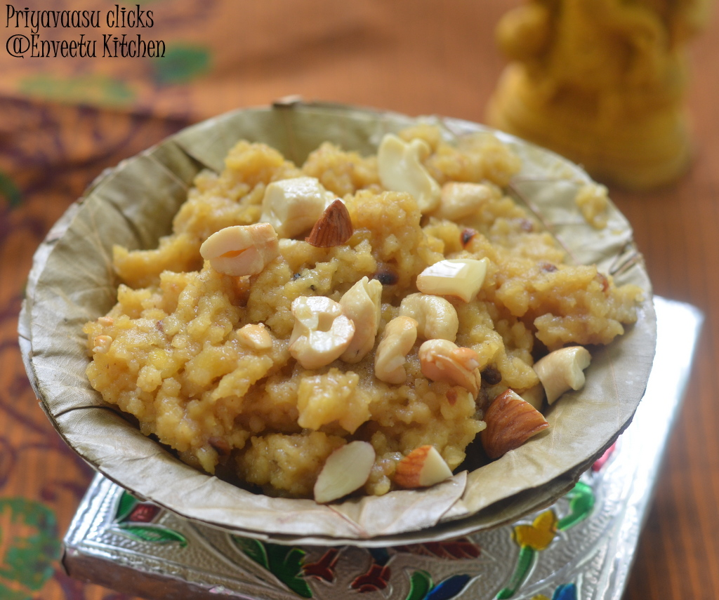 Foxtail millet sweet pongal
