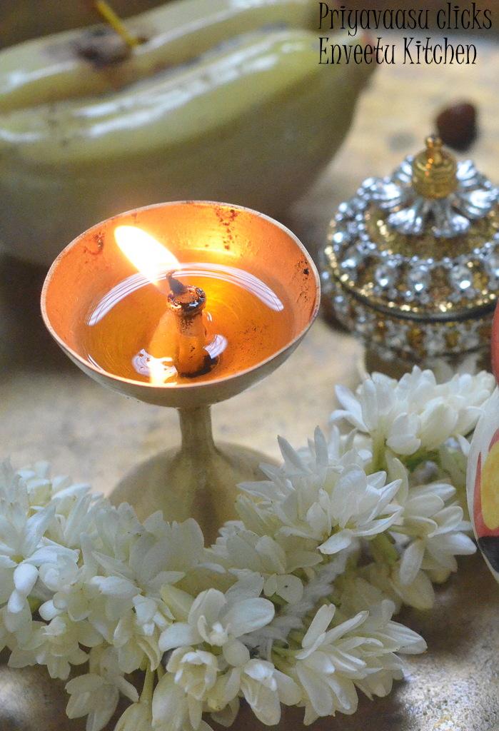 Pooja offering