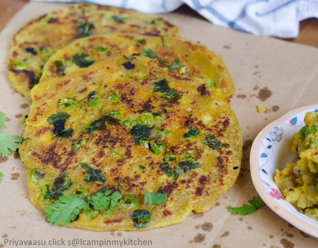 Krishna sweets style masala poli