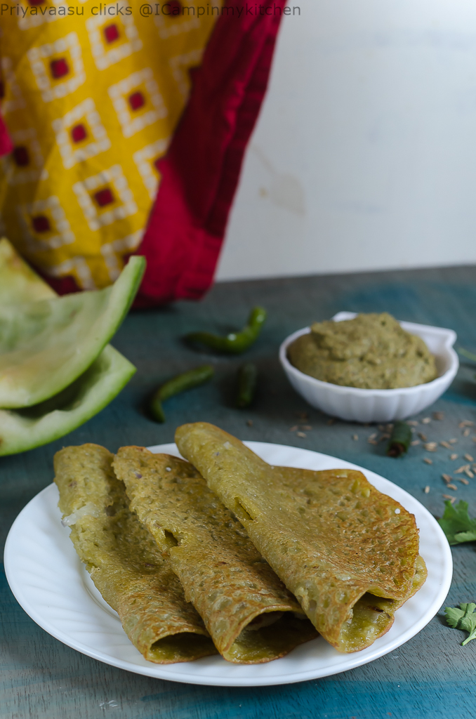 Grind and pour dosa