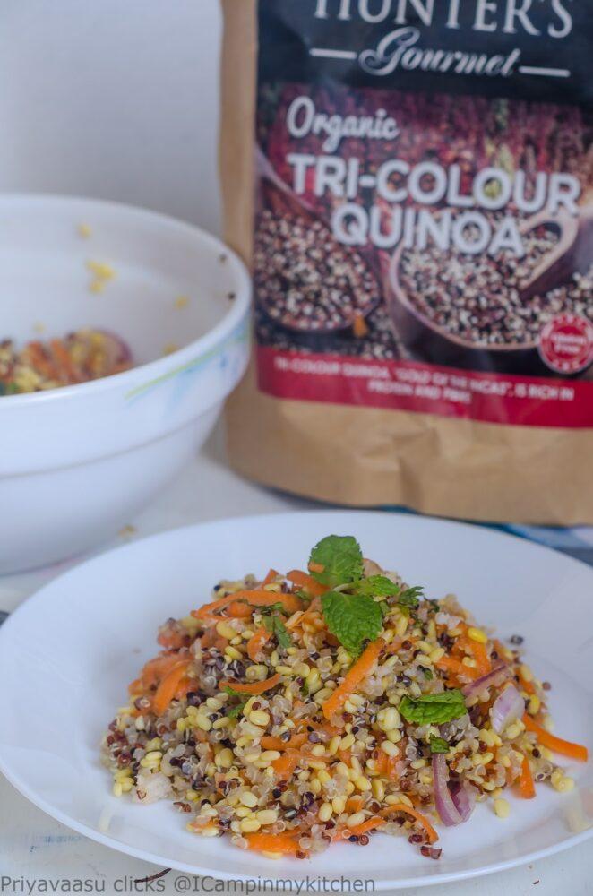 quinoa kosambari