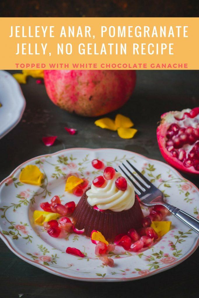 Pomegranate jelly pin