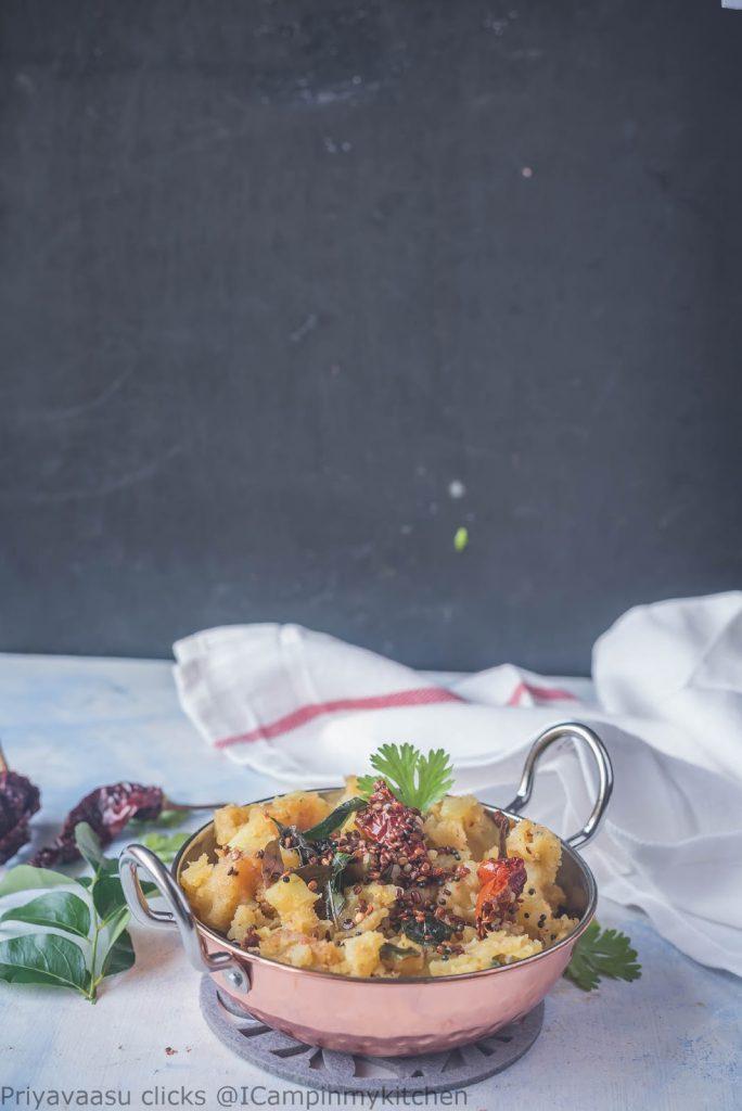 Potato curry, Simple potato curry, southindian style potato curry
