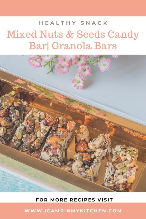 Granola bars pin