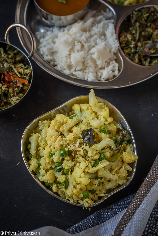 Easy Cauliflower curry