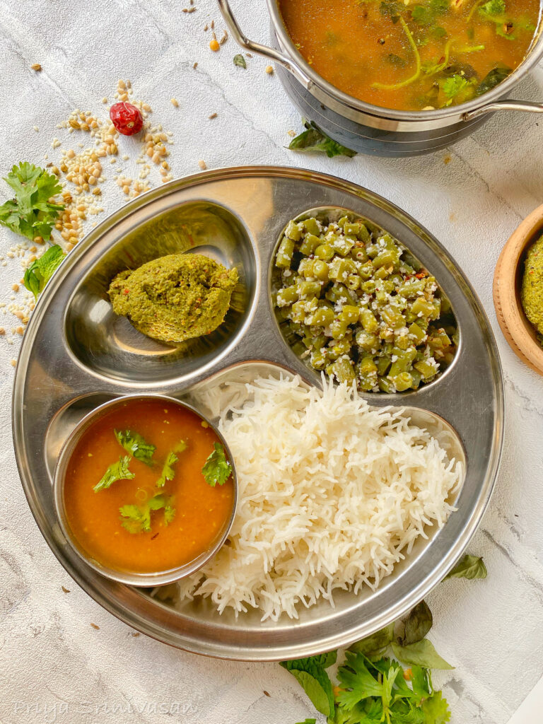South Indian Lunch Thali 4