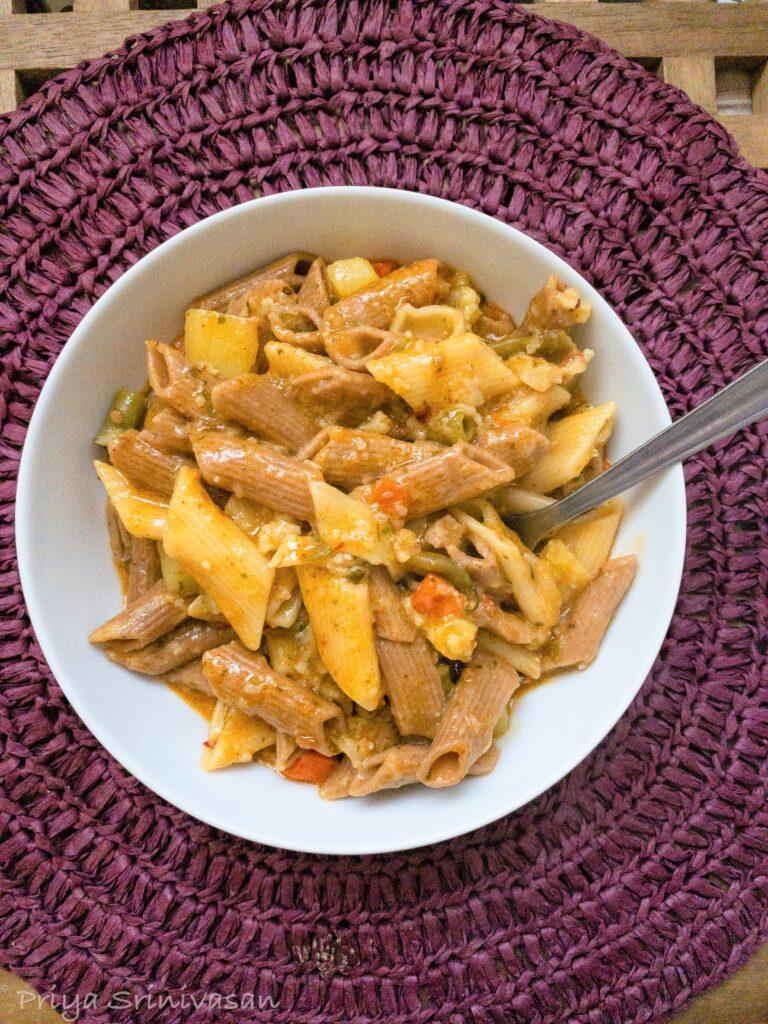 Instant pot masala pasta