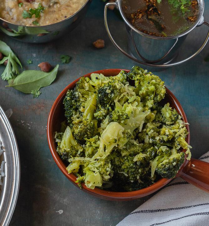 Broccoli Poriyal